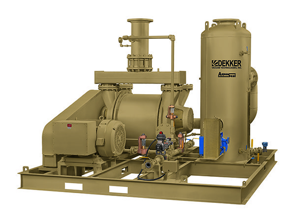 DEKKER - Dedicated Hogging Vacuum System AquaSeal PowerGen
